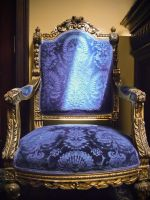Blue Chair 1 by Lizzie-Bitty