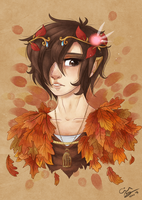 Prince of the leaves by cindre