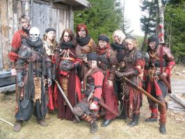 Larp - group picture by kickfoot