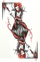 queen of hearts by Xedden