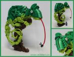 Bionicle MOC: Chameleon by Rahiden