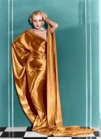 Carole Lombard Godess Colorize by ajax1946