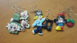 Earrings made by me by Kalix5