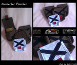 [Commission] BL2 Gunzerker Pouches by Belle43