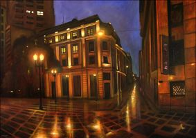 Downtown Lights by tamino