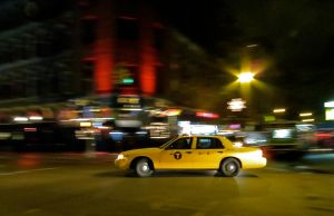 Taxi Cab by rmbastey