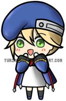 KEYCHAIN - Noel Vermillion ver. 01 (BLAZBLUE) by yuriarrow