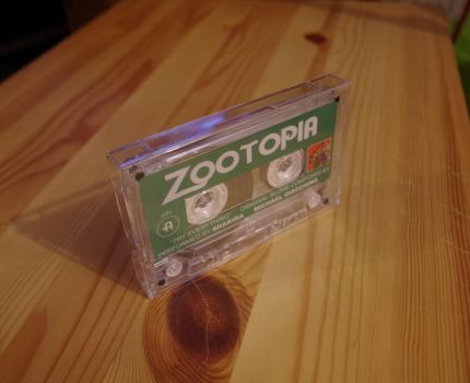 Zootopia Soundtrack on MC! (Music Cassette) +video by HyenaTig