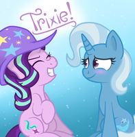 Starlight and Trixie by cumyns