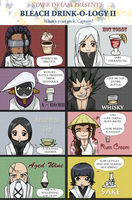 Bleach Drinkology II by starr-dream