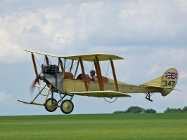 Royal Aircraft Factory BE-2c by davepphotographer