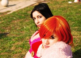 Nami and Boa. by AliciaMigueles