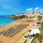 Albufeira Beach by Pillowbox