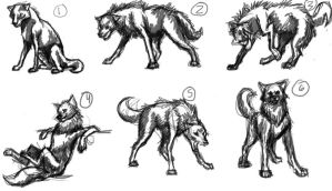 stages of (dog)hamlet insanity sketch by DoctorofMine