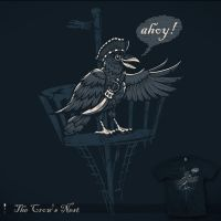 The Crow's Nest - tee by InfinityWave