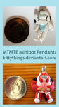 TF Pendants Minibots by Bittythings