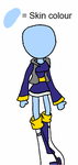 Adopted: blue outfit by Niffykid-Adoption