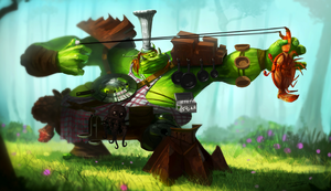 Goblin Cook by 7heKro
