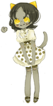 Nepeta's at a party by Costly