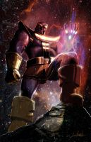 Thanos by LivioRamondelli