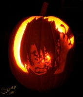 Sasuke Pumpkin by shriekerssj