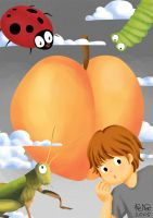james and the giant peach by cosanuova
