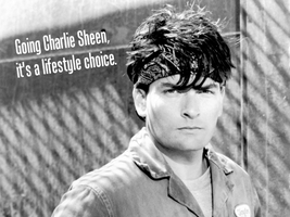 Charlie Sheen by Oultre