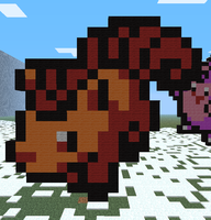 Minecraft- Vulpix by aprilgoddess