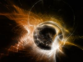 Fractal05: Black Hole Sun by tei187