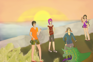 Meladis Event~ Island Disaster by path-o-logical