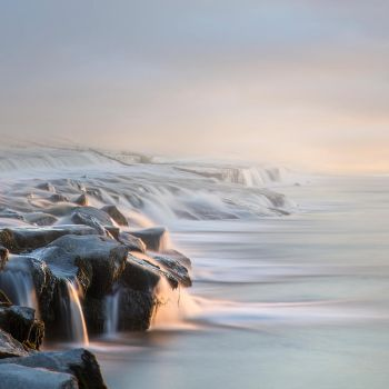 Winter Morning Premade Background by little-spacey