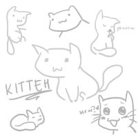 Doodle Fun Time: Mr. Kitteh Kat by emilialight