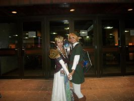 Link and Zelda - ConBravo Cosplay by SelenaEde