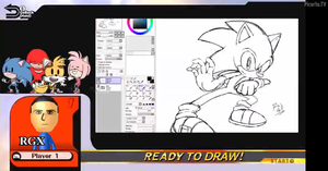 Sonic Smash sketch WIP by RGXSuperSonic