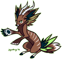 design trade- fox/bongo by jaywalkings