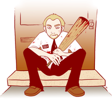shaun of the dead by nichie