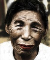 Old Woman by julianosilveira