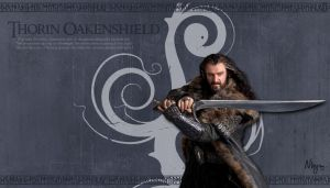Thorin Oakenshield by Nhyms