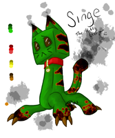 Kitty Creeper - Singe by Jessyba