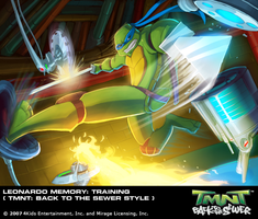 TMNT BTTS Memory-Leo Training by E-Mann