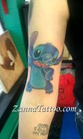 Stitch Tattoo by LuckyPineapple