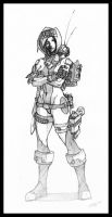 Mercenary Girl by Elven-Curse