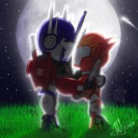 Request - Optimus x Causeway by MNS-Prime-21