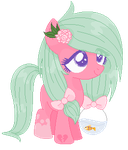 ~Closed - Fishbowl Pony Earth Filly Auction Adopt by BluGummi