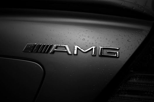 AMG In The Rain by kanokus