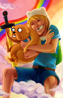 adventure time by Sydesu