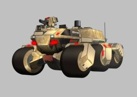 Armored Vehicle by sevenmilesaway