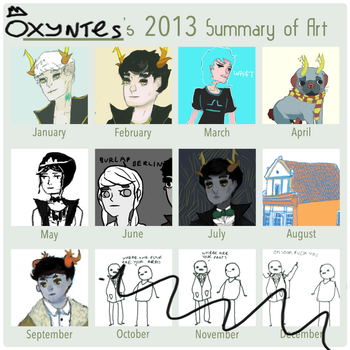 2013 Summary of Art by Mangomusher