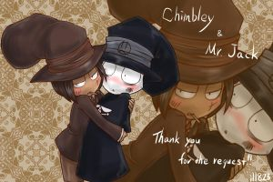 Chimbley and Mr.jack by ill825