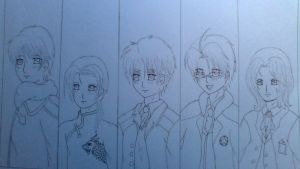 Hetalia Allies - colours of the soul/uncoloured by Kurohimex105